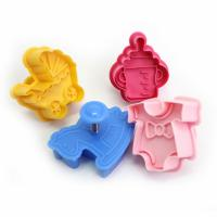 Baby Plunger Cookie Cutter Set of 4