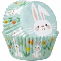Egglectic Bunny & Egg Easter Baking Cups - 75 pack
