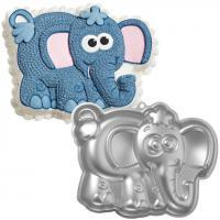 Elephant Cake Pan Tin