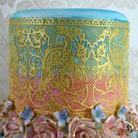 Fantasia 3D Cake Lace Mat