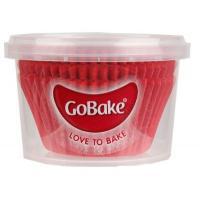 gobake red baking cups