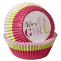 It's A Girl Cupcake Cases