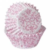 pink damsak mini baking cups