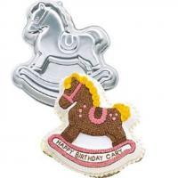 Rocking Horse Cake Pan Tin