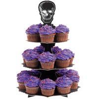 Skull Treat-Cupcake Stand