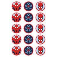 Edible Image-Spiderman Cupcake icing image