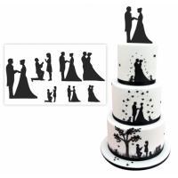 wedding silhouette cutter set