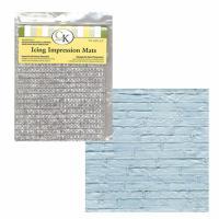 woodgrain impression mat